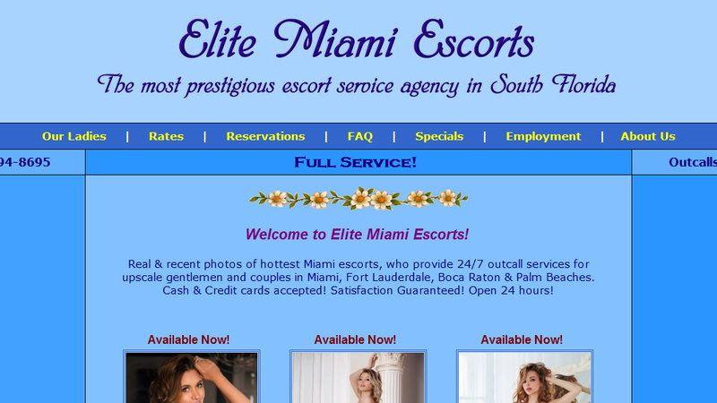 Elite Miami Escorts - Miami Escort agencies - WikiSexGuide - International  World Sex Guide
